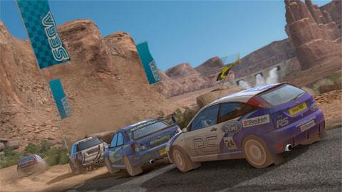 Sega Rally - Canyon