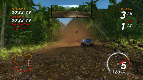 Sega Rally - Tropical