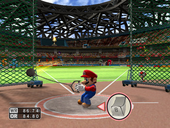 Mario and Sonic at the Olympic Games - Hammer Throw