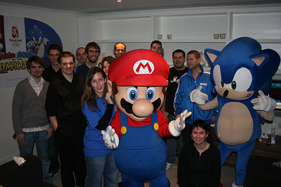 Mario and Sonic at the Olympic Games - Bloggers' Event
