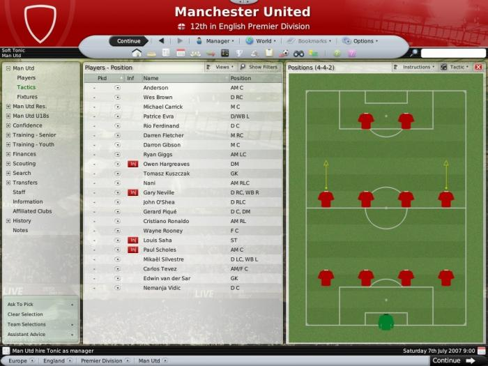Football manager 2008 game gamesarcade gamescall.
