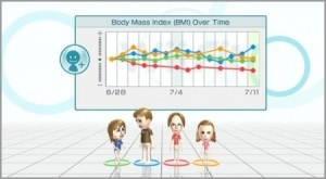 Wii Fit BMI Screen