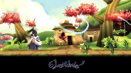 Wiiware Game Lost Winds