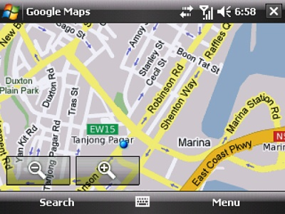 Google Maps for Blackberry / Mobile Phone