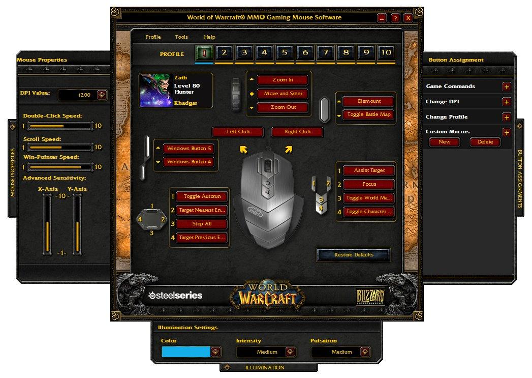 razer how to set up a click macros