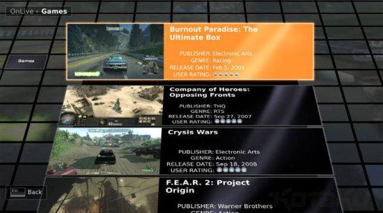onlive-digital-game-distribution-selection