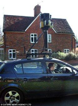 google-street-view-uk-car