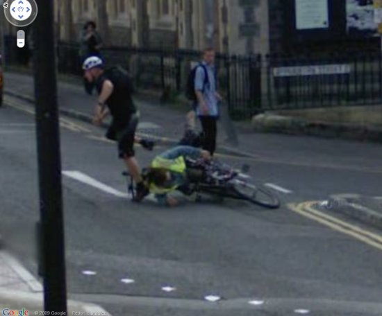 google-streetview-cyclist-collision-accident