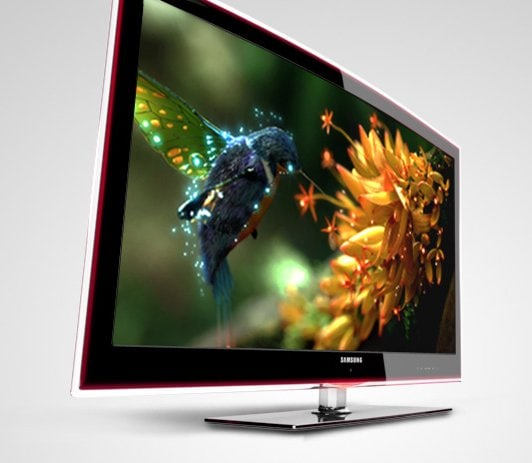 Lcd Vs Led Tv: Samsung LED TV Range (2009)
