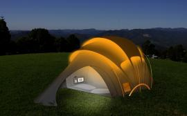 orange-solar-concept-tent-night
