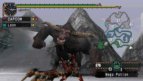 Скачать Игру Monster Hunter Freedom Unite - фото 11