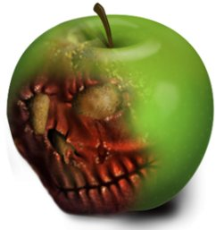 bad-apple-skull