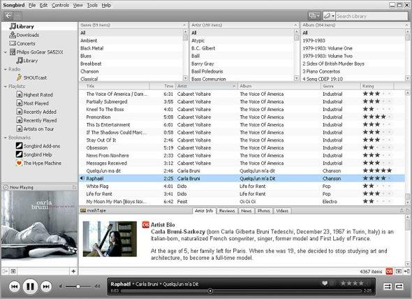 songbird-music-player-screenshot