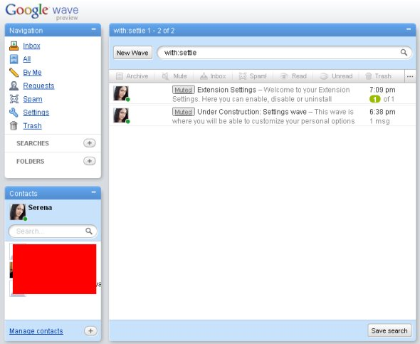 google-wave-interface-left-columns-screenshot