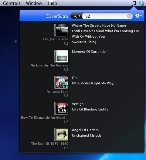 coversutra-music-search-window-screenshot