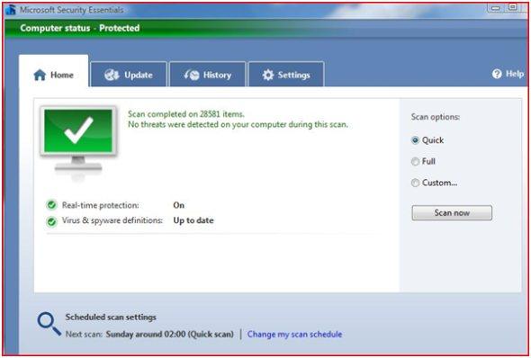 microsoft-security-essentials-scan-screenshot