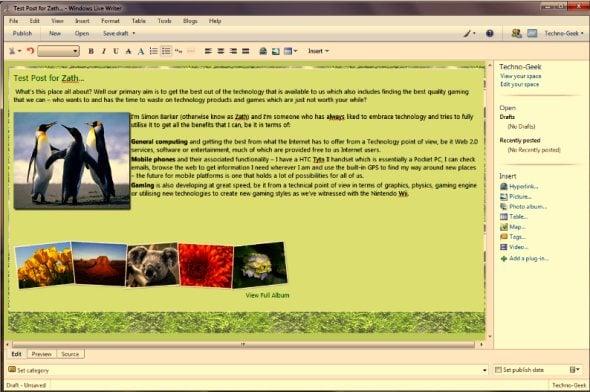 windows-live-essentials-writer-editor-photo-album-screenshot