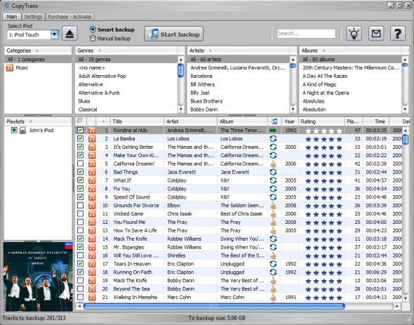 copytrans-4-transfer-ipod-to-itunes-screenshot