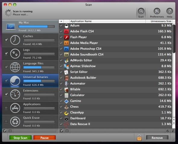 cleanmymac-binaries-screenshot