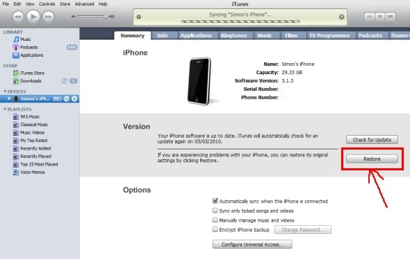 itunes-iphone-restore-reset-button