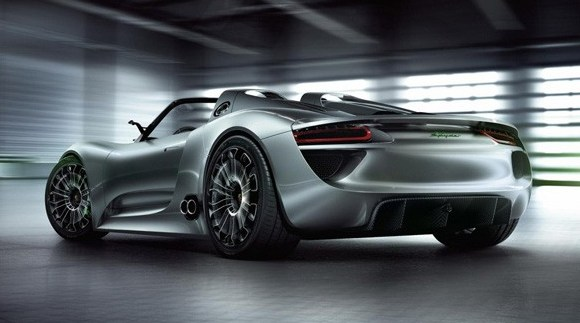 But in all honesty, the Porsche 918 Spyder Hybrid concept car sounds great