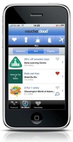 voucher-cloud-iphone-app-offer-list-screenshot