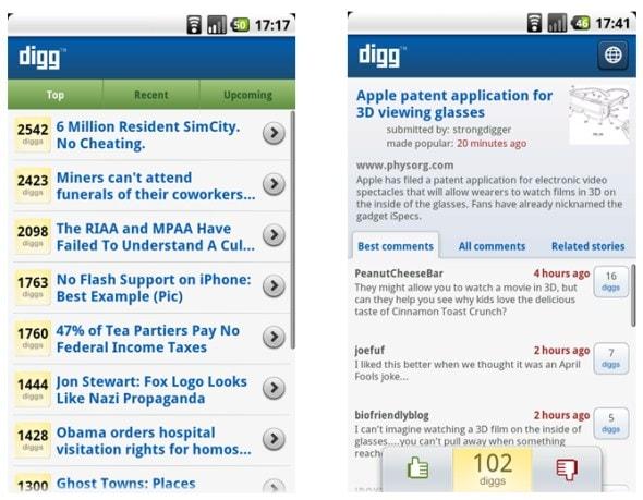 digg-android-app-screenshots