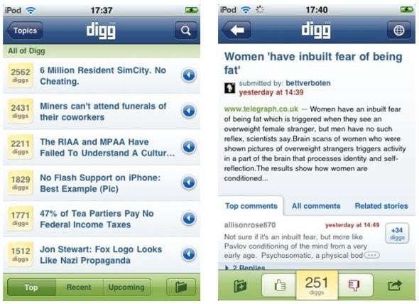 digg-iphone-app-screenshots