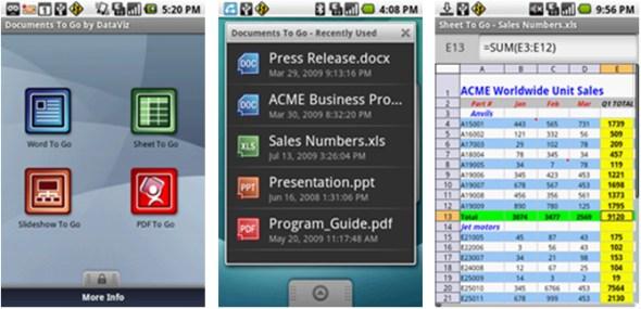 documents-to-go-office docs-app-screenshots
