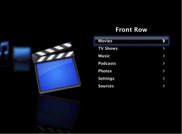 front-row-mac-os-media-centre-software-main-menu-screenshot