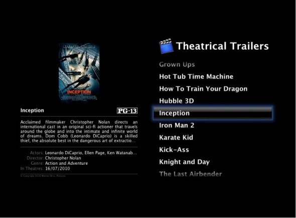 front-row-mac-os-media-centre-software-theatrical-movie-trailers-screenshot
