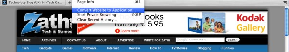 mozilla-prism-zath-convert-website-to-application-screenshot