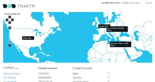 traktr-mobile-phone-location-screenshot