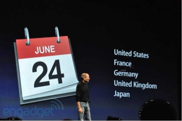 apple-iphone-4-steve-jobs-wwdc-keynote-release-date-june-24