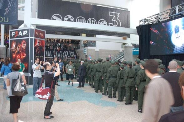e3-publicity-stunt-homefront-north-korean-army-invasion