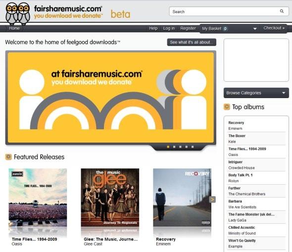 fair-share-music-mp3-downloads-non-profit-for-charity-website-screenshot