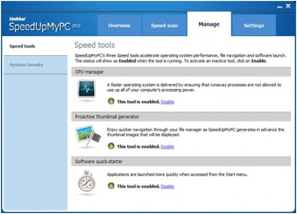 uniblue-power-suite-2010-speed-tools-screenshot