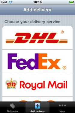Parcel iOS Couriers
