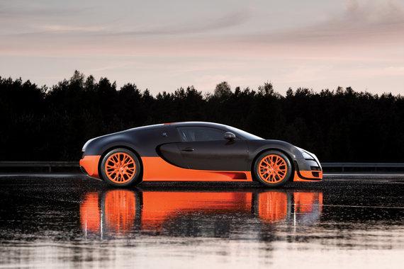bugatti-veyron-super-sports-car-side-view