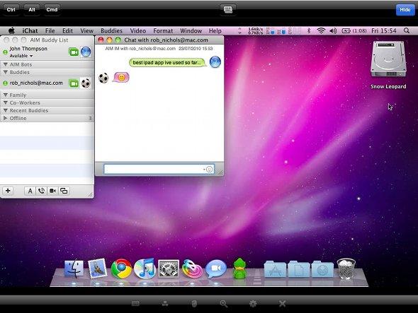logmein ipad mac
