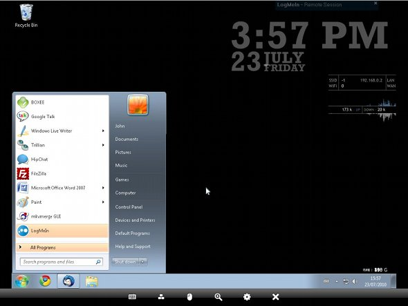 logmein ipad windows