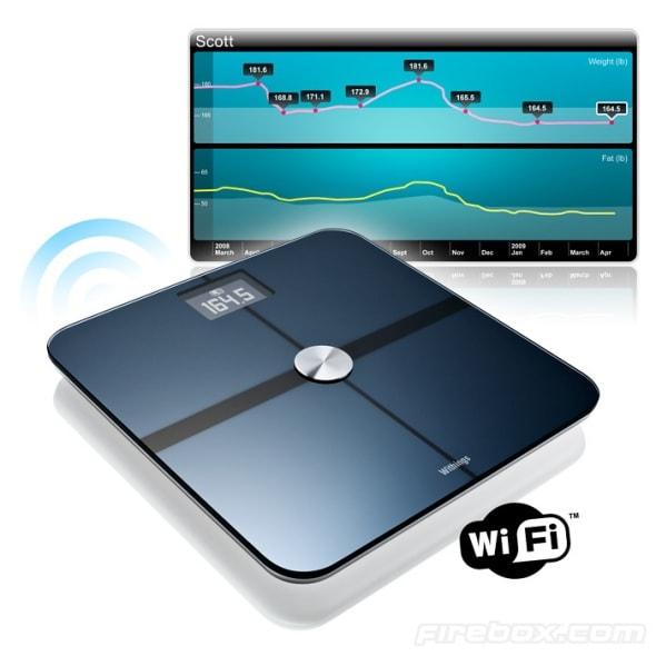Wi Fi Digital Bathroom Scales Internet Connected Weigh Ins