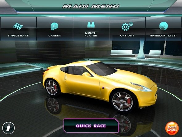 asphalt-5-ipad-main-menu