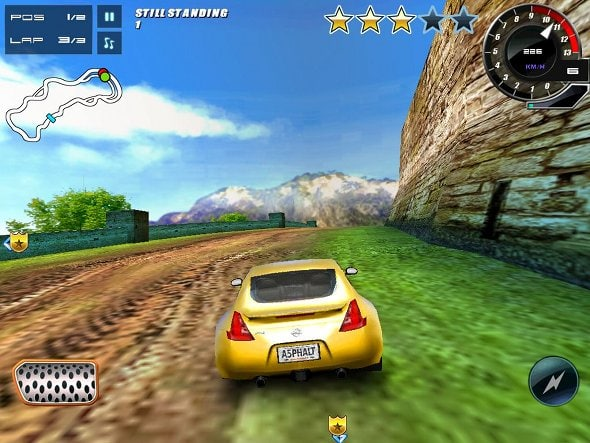 Screen Shorts of Asphalt 5 Android App v3.4.1