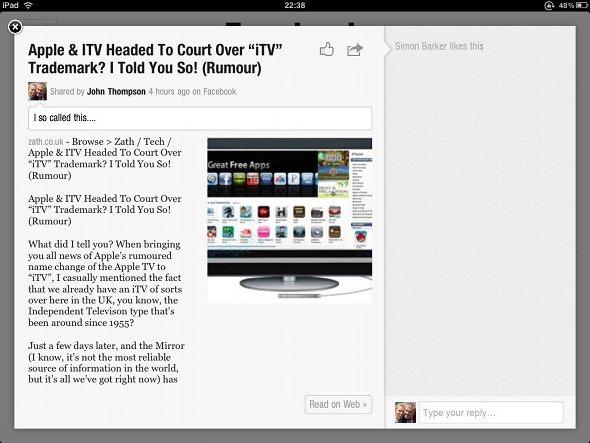 flipboard zath apple itv article