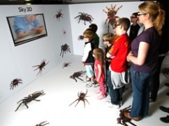 Sky 3DTV Technology Used In Arachnophobia Cure Attempt