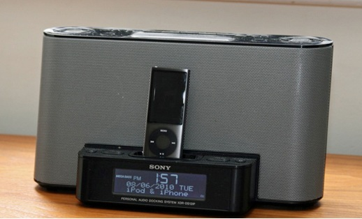 Sony-XDR-DS12iP-iPod-iPhone-dock