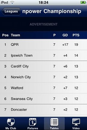 football-league-iphone-app-league-table
