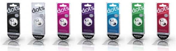 radiopaq-dots-earphones-close-box-view-all-colours