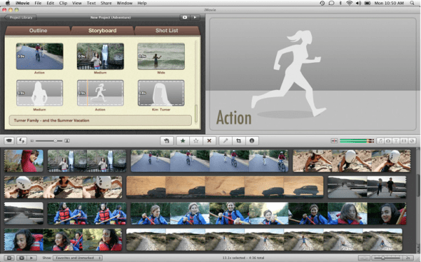 iMovie-2011-trailer-editing